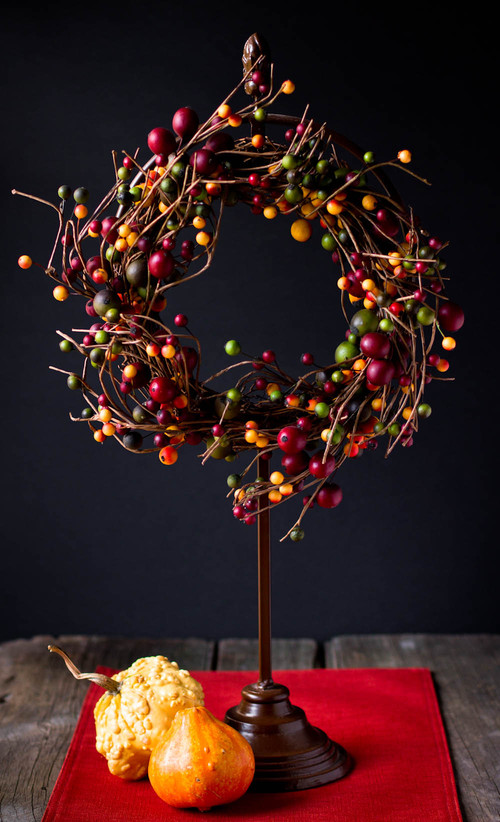 Christmas Tree Market - Fall wreath