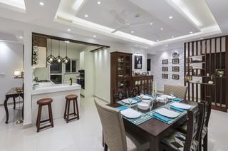 False Roof Design For Living Room Contemporary Dining Room Bengaluru By Nandita Manwani