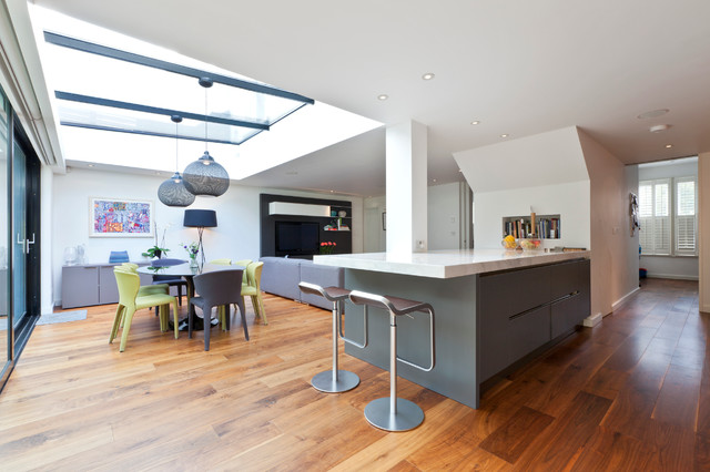 How To Hide Structural Columns In Your Kitchen Extension