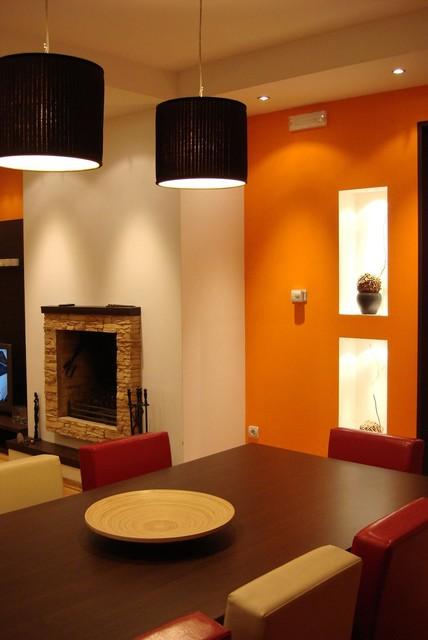 Family house in Podgorica modern-dining-room