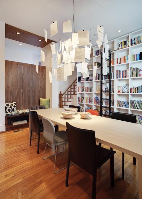 Fan Residence modern-dining-room