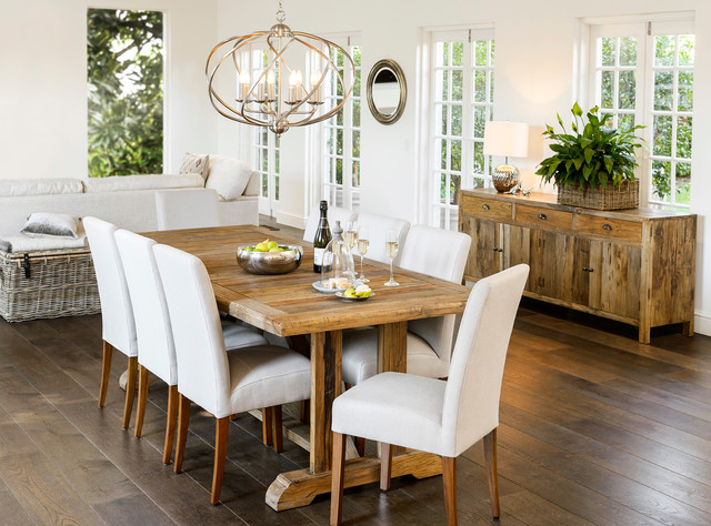 Faraway Elm Dining Table U0026 Cole Dining Chairs Transitional Dining Room