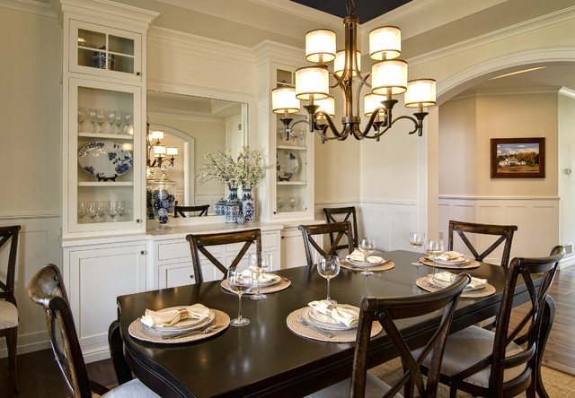 Farinelli Construction Inc eclectic dining room