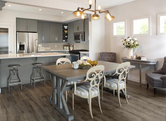 show home dining room | Farm House Fresh Show Home for Hopewell Residential ...