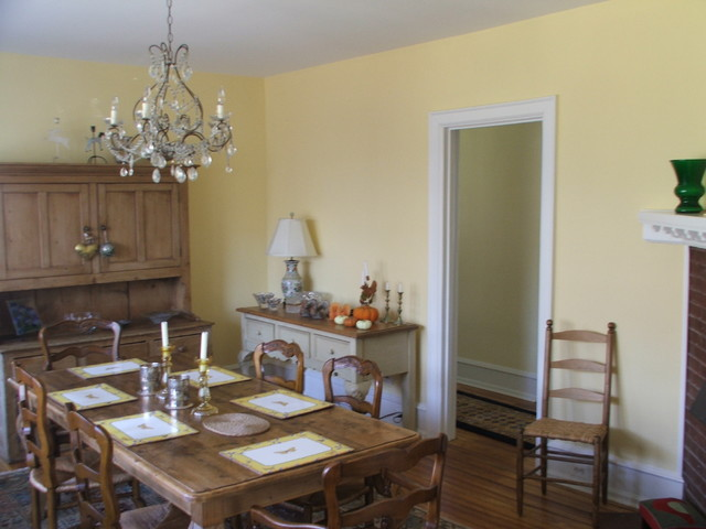 Farm House Renovation dining-room