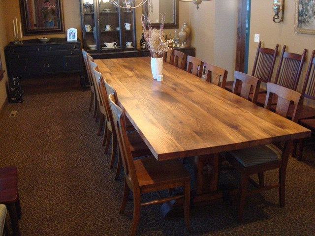Farm Tables traditional-dining-room