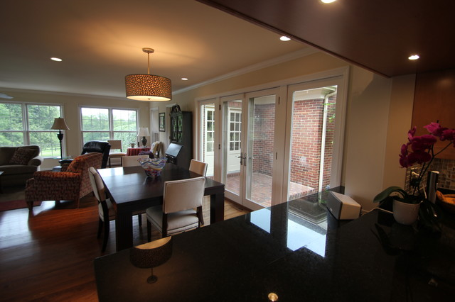Farm upgrade contemporary dining room cincinnati for Dining room upgrades
