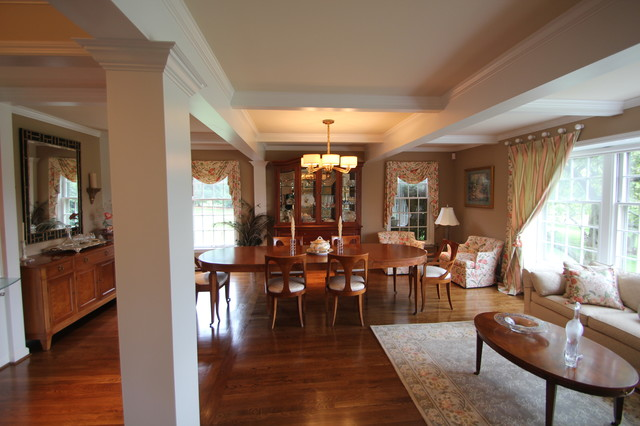 farm upgrade traditional dining room cincinnati by