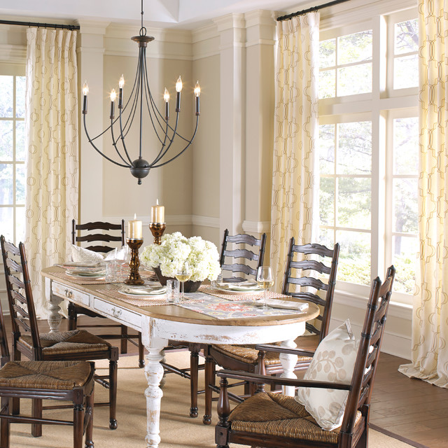 farmhouse dining room farmhouse dining room nashville by loom decor. Black Bedroom Furniture Sets. Home Design Ideas