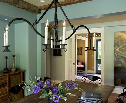 Farmhouse Reinterpreted contemporary dining room