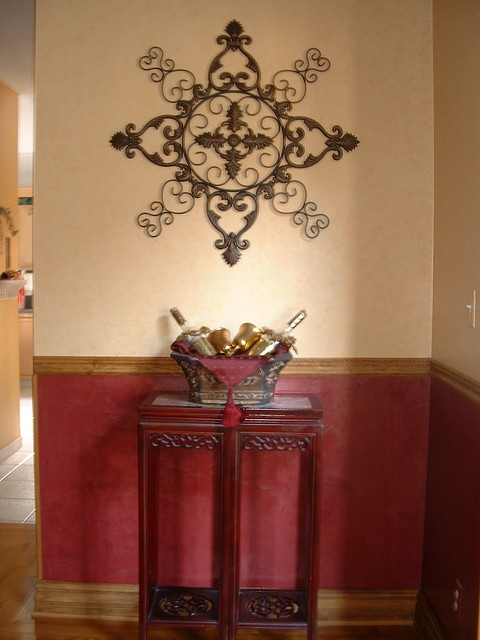 Faux Finishes Traditional Dining Room Other Metro