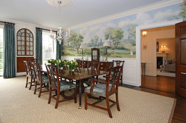 Federal Colonial Restoration - Traditional - Dining Room ...