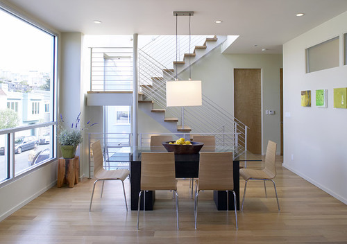 Modern Dining Room by San Francisco Architects & Building Designers Feldman Architecture, Inc.