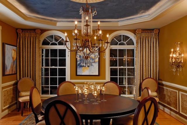 Feminine Dining Room 1 traditional-dining-room