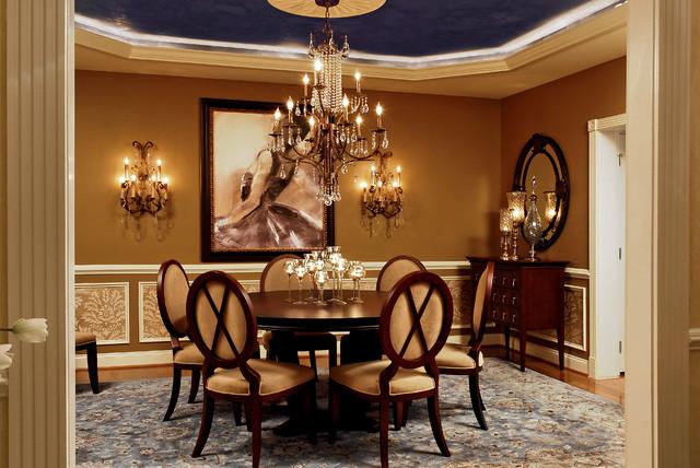 Feminine Dining Room 4 - Traditional - Dining Room - DC ...
