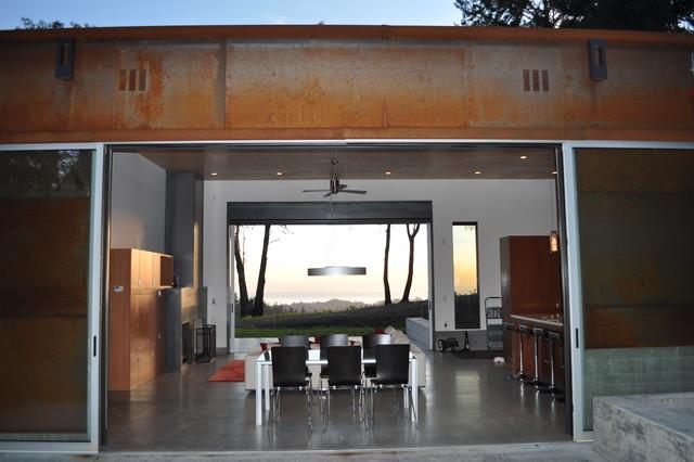Fern Flat contemporary-dining-room