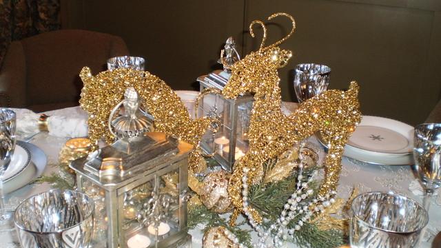 Festive Tables Winter Wonderland Table Setting