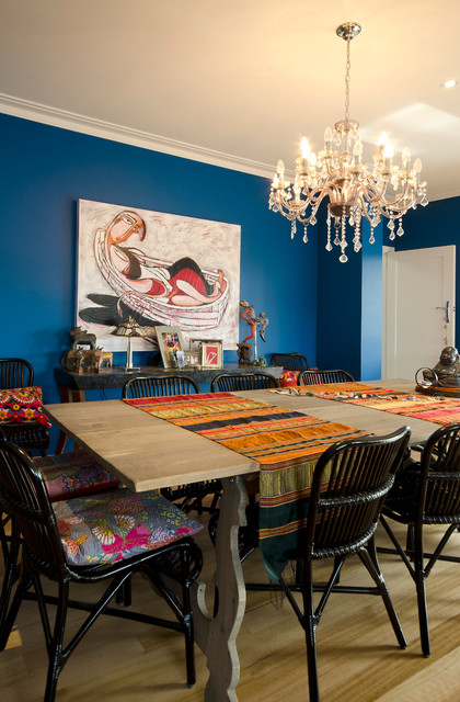 Field Avenue, Edithvale eclectic-dining-room