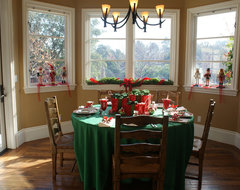 Finishing Touches- Junior League of Palo Alto-Mid Peninsula Holiday House Tour traditional-dining-room