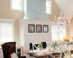 Fire Places traditional dining room