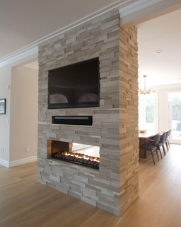 Fireplaces In Monmouth County Nj Transitional Dining