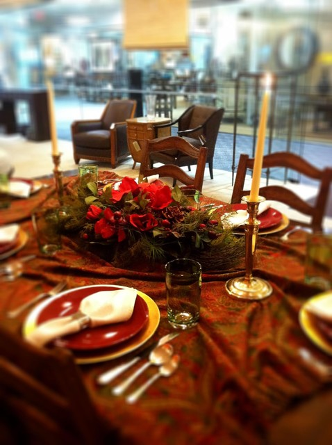First Friday -- Creative Tablescapes traditional-dining-room