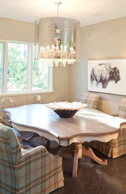 Http Www Houzz Com Photos 1572420 Fish Creek Grace Home Design Modern Dining Room Other