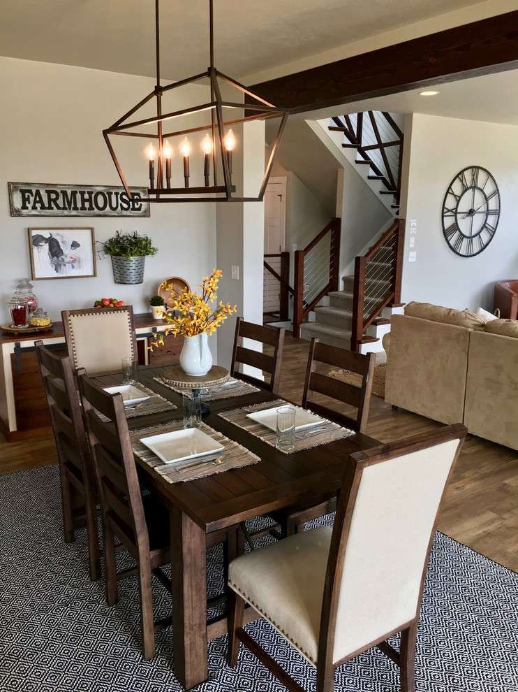 Fixer Upper Inspired Modern Farmhouse, Fixer Upper Dining Rooms