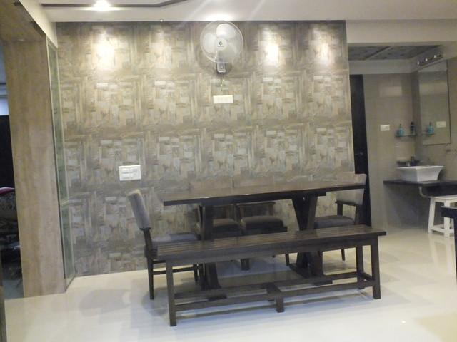 Flat in Surat (India) contemporary-dining-room