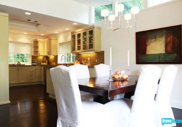 Flipping Out Jeff Lewis Design Contemporary Dining Room Other