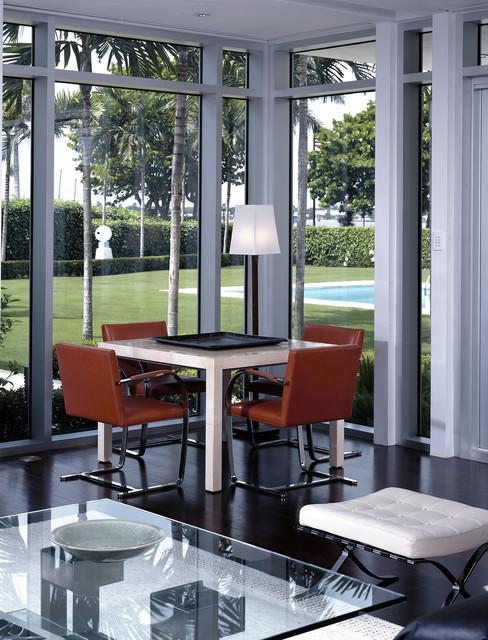Florida Residence modern-dining-room