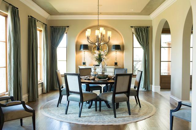 Flower Mound transitional-dining-room