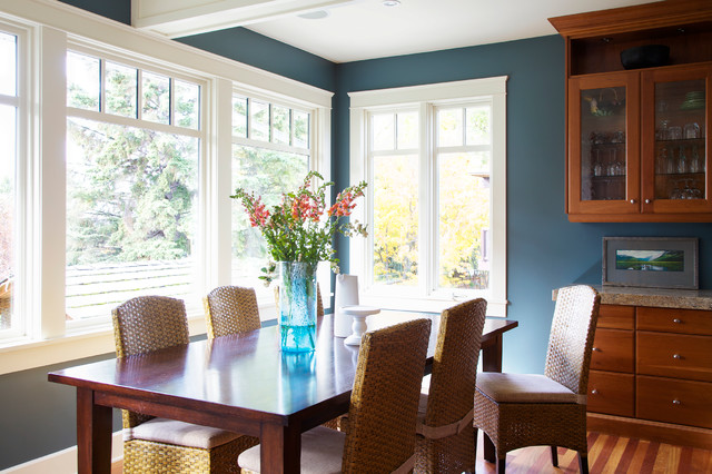 Foothill Estates Modern Arts Crafts Renovation Craftsman Dining Room Calgary By