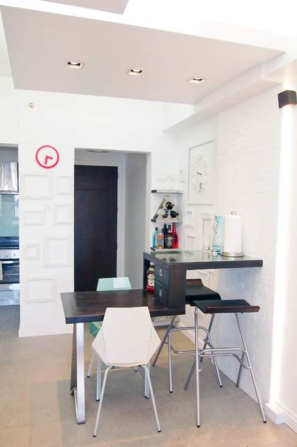 Forbeswood Condo 1 contemporary-dining-room