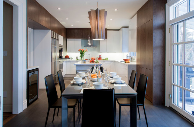 Forest Hill Kitchen Contemporary Dining Room Toronto By Yorkville Design Centre