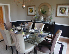 Forest Manor Model Home modern dining room