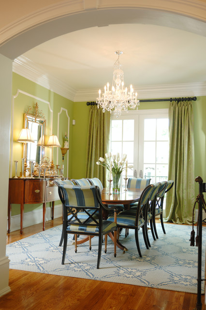 Forester Moulding & Millwork eclectic-dining-room
