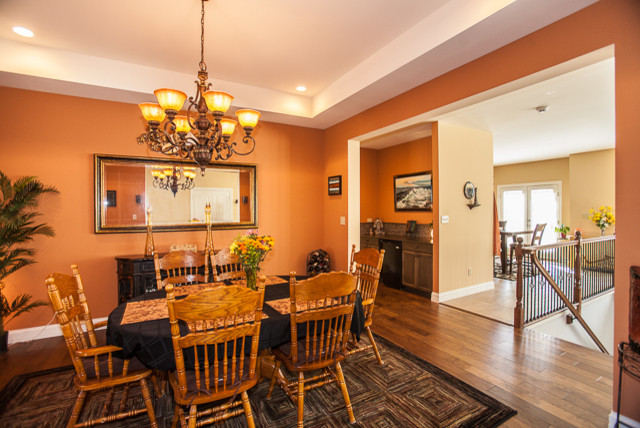 Foristell, MO Custom Ranch Home - traditional - dining room - st