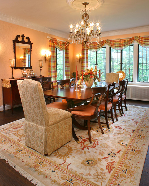 Formal Dining Area Rug Traditional Dining Room Tampa
