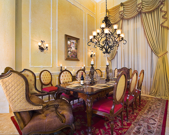 Formal Dining by LS Interiors Group, Inc. in Palm Beach, FL traditional-dining-room