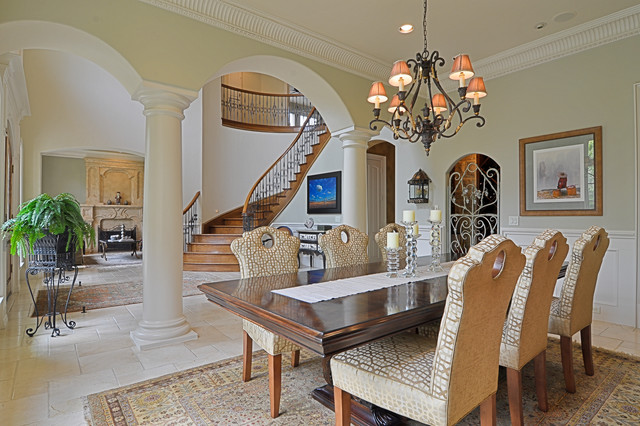 Formal dining entry traditional dining room other for Pictures of traditional formal dining rooms