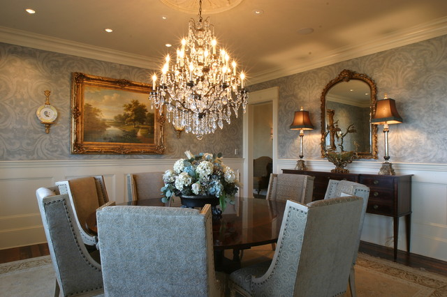 Formal dining for Traditional dining room decorating photos