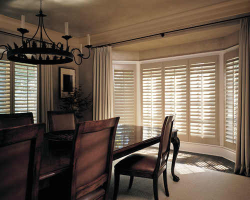 curb appeal with window treatments