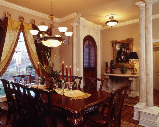 Formal dining room traditional dining room little for Traditional dining room