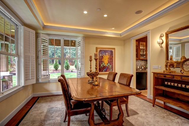 Formal Dining Room Connected To Kitchen And Kitchen Nook