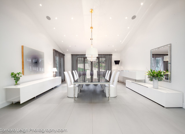 Formal Dining Room Contemporary Dining Room Los Angeles By DRichards