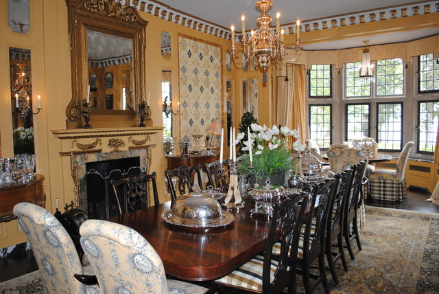 formal dining room - traditional - dining room - minneapolis -