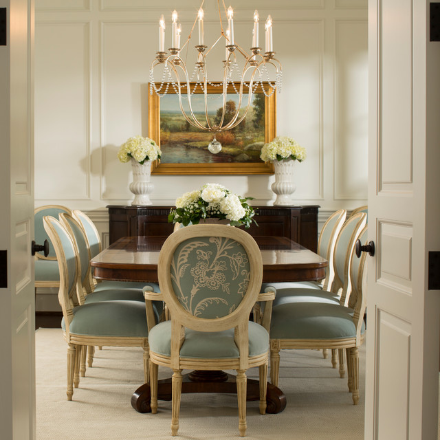 Formal dining room traditional dining room baltimore for Best private dining rooms in baltimore
