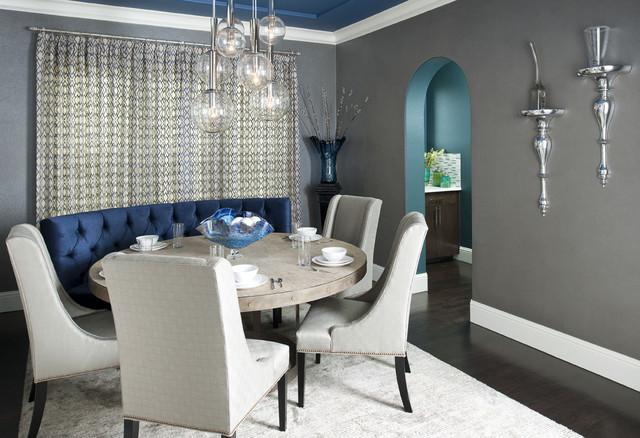 Formal Dining Room - Contemporary - Dining Room - Dallas - by RSVP ...