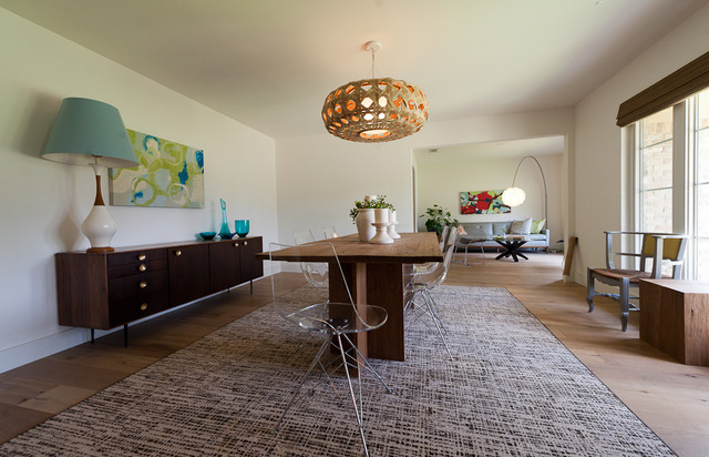 Formal Dining Room - modern - dining room - austin - by Schroeder